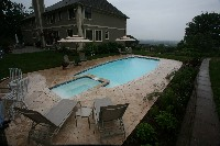 Olympus Fiberglass Pool and Spa in Hyattsville, MD